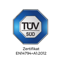 TÜV-Süd-Zertifikat